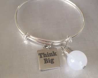 Think big light bulb bracelet