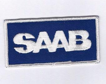 Vintage SAAB Car Patch