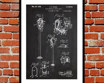 Parking Meter Patent, Parking Meter Poster, Parking Meter Blueprint,  Parking Meter Print, Parking Meter Art, Parking Meter Decor