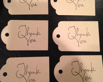 Thank You Gift Tags- Set of 8