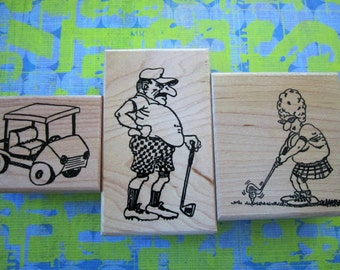 golf package wood stamps