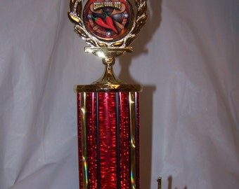 Chili Cook Off Trophy Award Cooking Contest-FREE ENGRAVING!