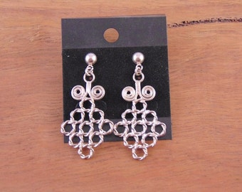 Diamond Lace Earrings