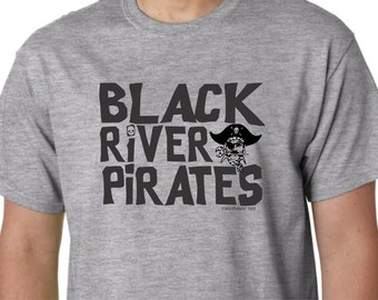 Black River Pirates High School Middle Elementary Ohio Tee Shirt Spencer