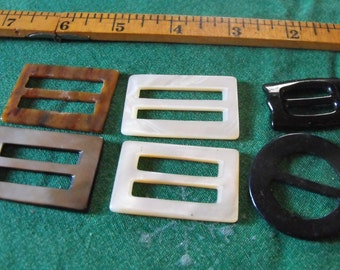 6 estate sale buckles
