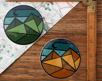 Vinyl Sticker - Geo-Circle