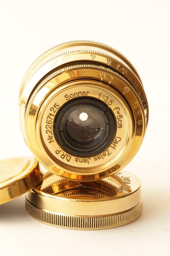 Carl Zeiss Jena D.R.P /Rangefinder Lens Sonnar 3,5 f/5cm (Industar Copy)j
