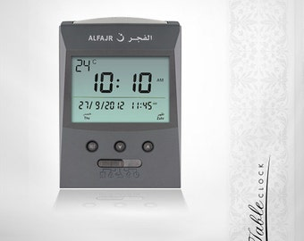 alfajr islamic table clock cs-03