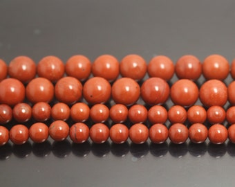 Africa Red Jasper, round shape beads,6mm 8mm 10mm 12mm 14mm,15 inches 1 strand