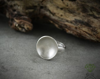 Bowl Ring,Sterling Silver ring