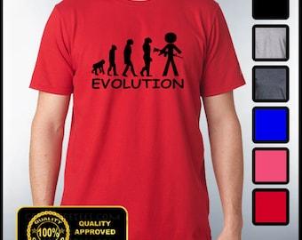 Funny Evolution Tshirt AR15 Humor Tee Gift Idea Self Defense 2nd Amendment shirt