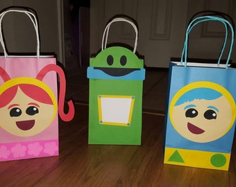 12 Team Umizoomi Party Favor Bags