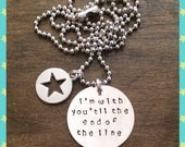 Captain America Bucky I'm with you necklace