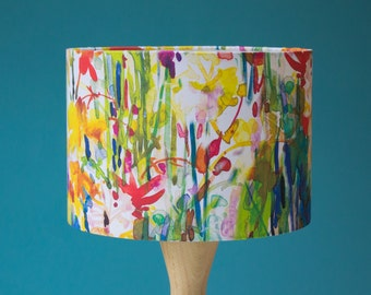 Flowerbed Lampshade