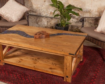 Blue River Coffee Table