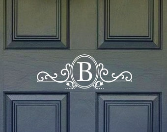 Front door address decal sticker Entry door number address
