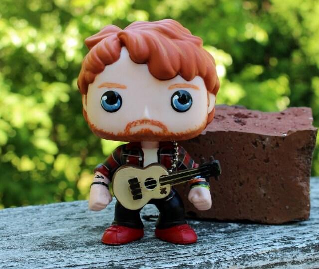 Custom Funko Pop Ed Sheeran