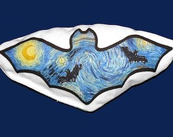 Van Gogh Starry Night Bat Catnip Cat Toy by StarCATS