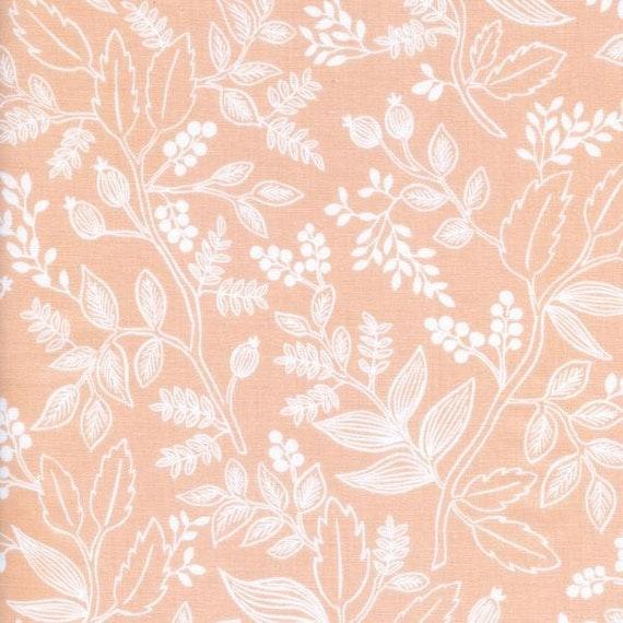 Boppy Cover >> Rifle Paper Co Queen Anne in Peach >> Boppy Newborn Lounger Nursing Pillow >> MADE-to-ORDER blush floral boppy, peach boppy