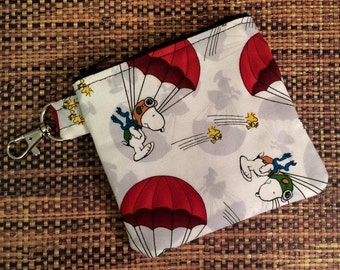 Clippyz/Change Purse Snoopy Print
