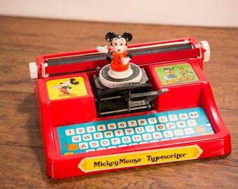 Mickey Mouse Toy Children's Typewriter