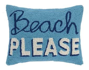 Beach Please Pillow