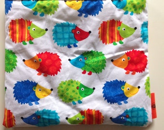 Snuggle snooze sleeping bag/sack for guinea pigs, hedgehogs, rats or other small pets.