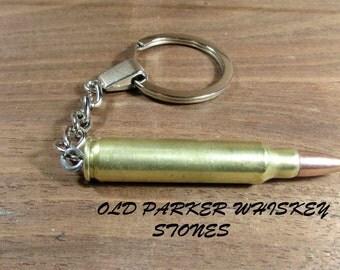 5.56 Lake City Brass Keychain. .223 Keychain, FMJ 5.56 Bullet Keychain.
