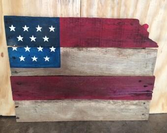 Reclaimed wood state of Kansas