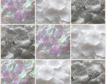 500 Winter Blend Rose Petals -Silk Rose Petals
