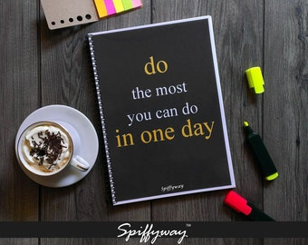 Daily Planner Printable | Undated Planner | Daily Planner Insert | Planner Calendar 2016 | Daily Agenda | Day Planner 2016 2017