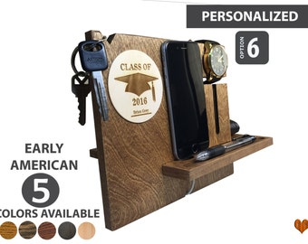 Personalized Graduation Gift , Anniversary Gifts For Men, Anniversary Gifts For Husband, Iphone Docking Station, Christmas Gifts For Him,