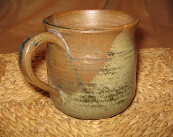 Earthtoned Stoneware Cup