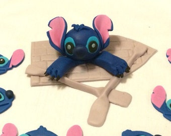 stitch cake topper edible fondant topper fondant decorations