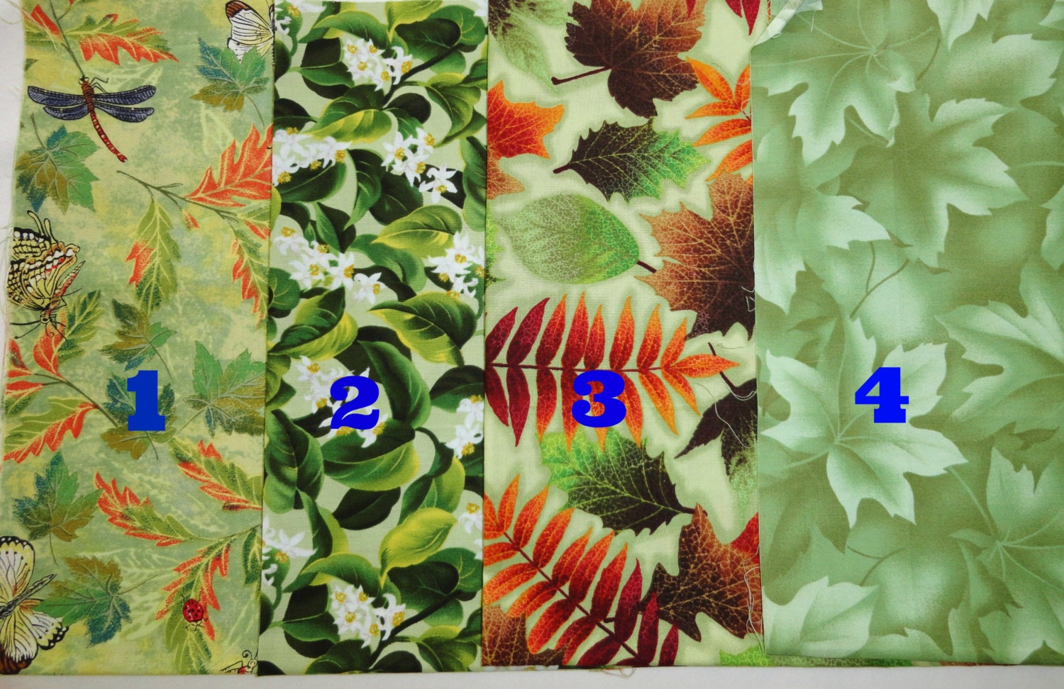 Fall Sale 4 5 Yards Leaf Fabric Home Decor Fabric Quilting
