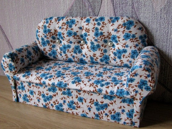 items similar to 12 inch doll furniture upholstered doll