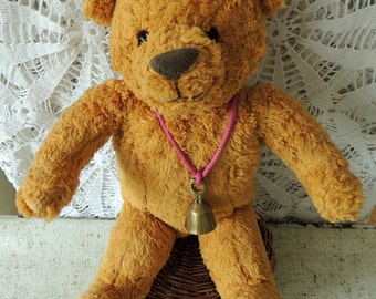 FrenchTeddy Bear, Montessori Pretend Play Toy, Vintage Toy, Property, Requisite, Collectibles, Home Children Room Decor Decoration
