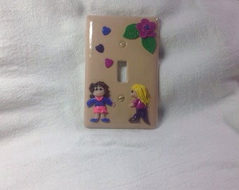 Cute childs room switchplate cover
