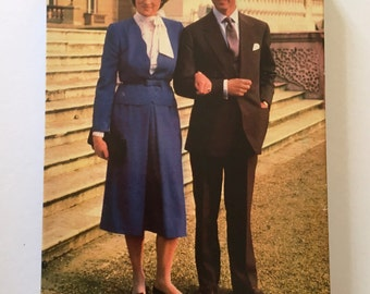 Vintage Charles and Diana Jigsaw Puzzle
