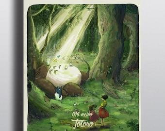 Poster de Totoro