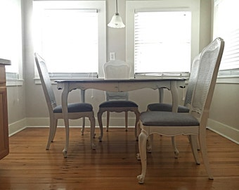 SOLD - French Provincial Dining Set