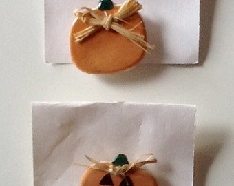 Thanksgiving and Halloween Button Covers