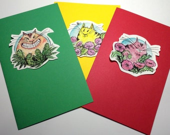 Happy Kitty cards     set 1