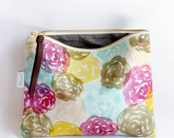 Large zipper pouch, Hana