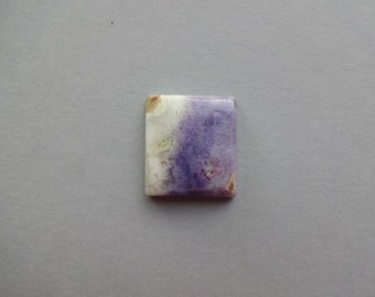 Tiffany Jasper square cabochon 25x22 mm