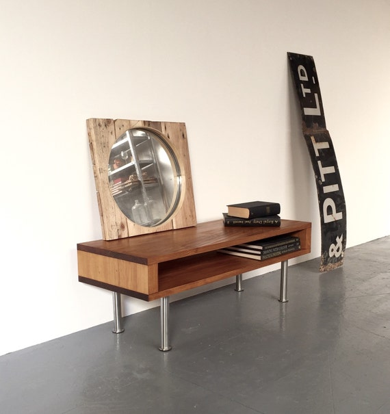 Weston Side Table Coffee Table TV Stand On by DerelictDesign -> Table Tv Coin