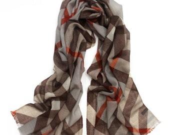 Men Scarf  Brown Scarf Men Infinity Scarf Wool Men Scarf  Men Fashion Gifts For Him Cool Mens Gifts  Men Scarves Scarf Mens Gifts For Men