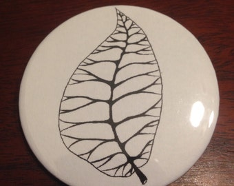 Leaf Pinback Button