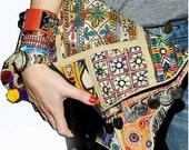 Banjara Vintage Clutch Bag, Distressed Vintage Bag, Oversized Clutch Bag, Gypsy Clutch, Indian Clutch called Diva