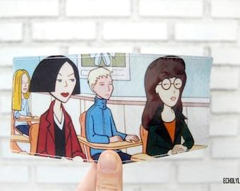 Vinyl Wallet - Daria TV Series - Handmade